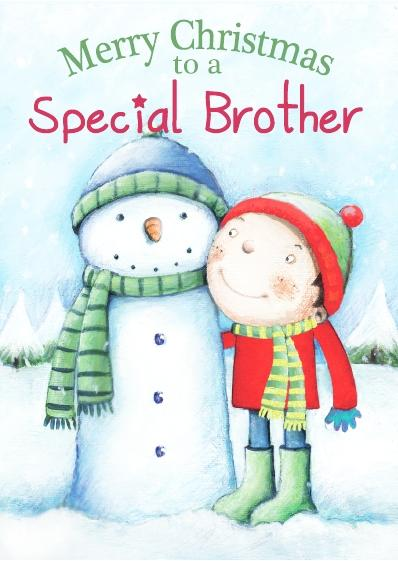Christmas Card - Special Brother