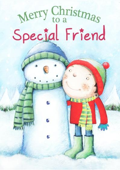 Christmas Card - Special Friend Boy