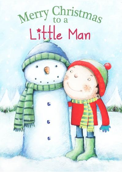 Christmas Card - Little Man