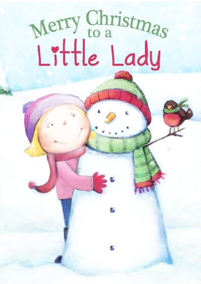 Christmas Card - Little Lady