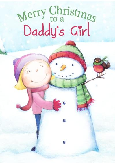 Christmas Card - Daddy's Girl