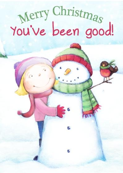 Christmas Card - You've Been Good Girl