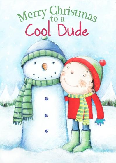 Christmas Card - Cool Dude