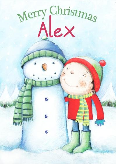 Christmas Card - Alex