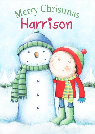 Christmas Card - Harrison