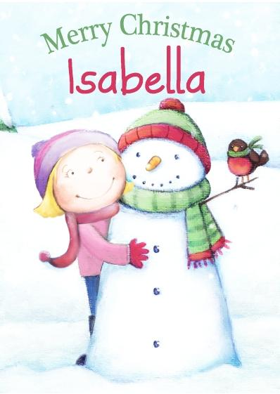 Christmas Card - Isabella