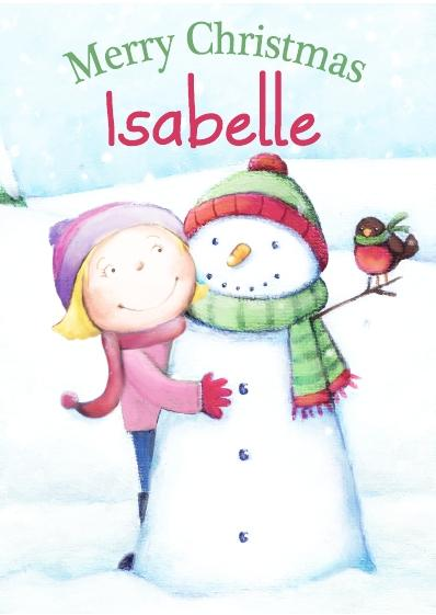 Christmas Card - Isabelle