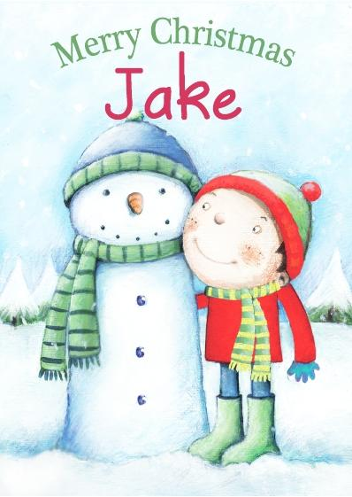 Christmas Card - Jake