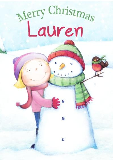 Christmas Card - Lauren