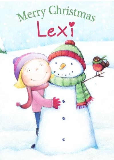 Christmas Card - Lexi