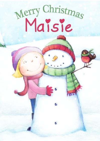 Christmas Card - Maisie