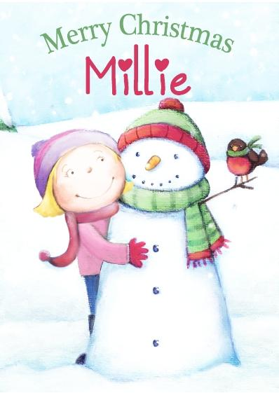 Christmas Card - Millie