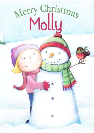 Christmas Card - Molly