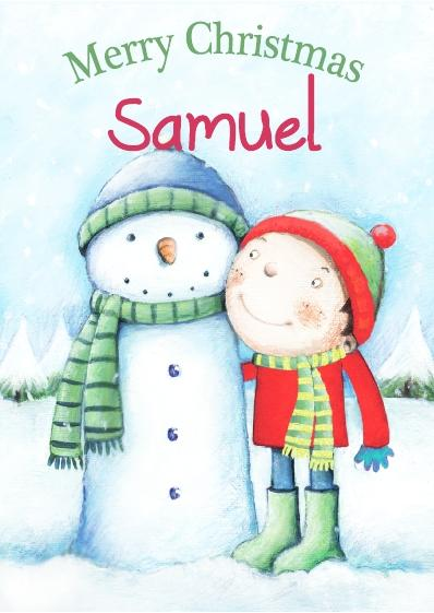 Christmas Card - Samuel