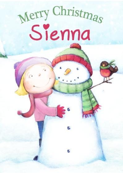 Christmas Card - Sienna