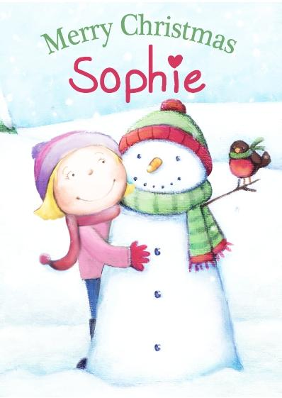 Christmas Card - Sophie