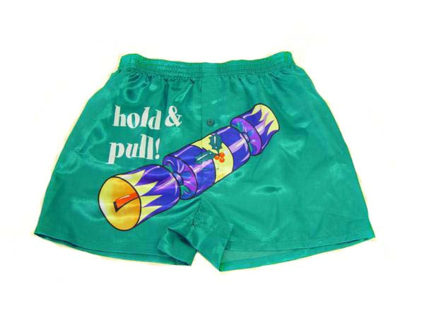 Boxer Shorts - Pull My Cracker