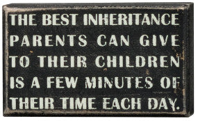 Primitives Box Sign - Best Inheritance