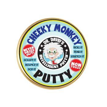 Dr David's Intelligent Putty - Cheeky Monkey