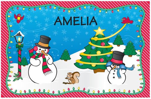 Christmas Placemats - Girls' Names