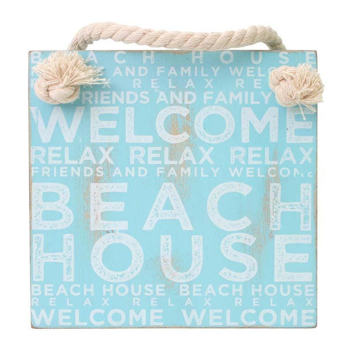 Splosh Coastal Beach House  Hanging Sign