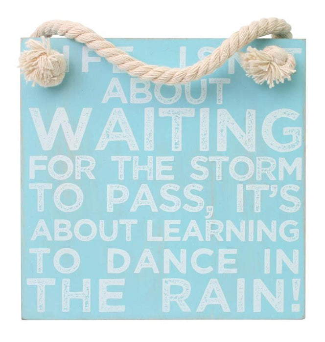 Splosh Coastal Dance  Hanging Sign