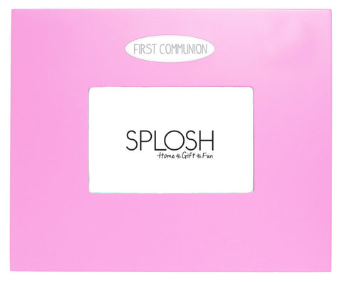 SFCMP Splosh First Communion Signature Frame - Pink