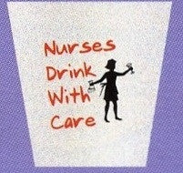 Shot Glass Nurses With Care