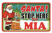 Santa Stop Here Sign - Mia