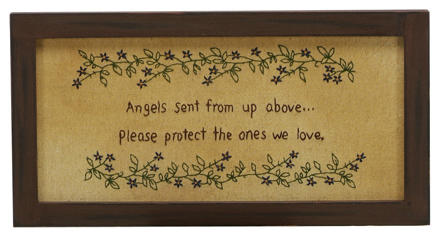 Stitcheries by Kathy Sign - Angels Sent