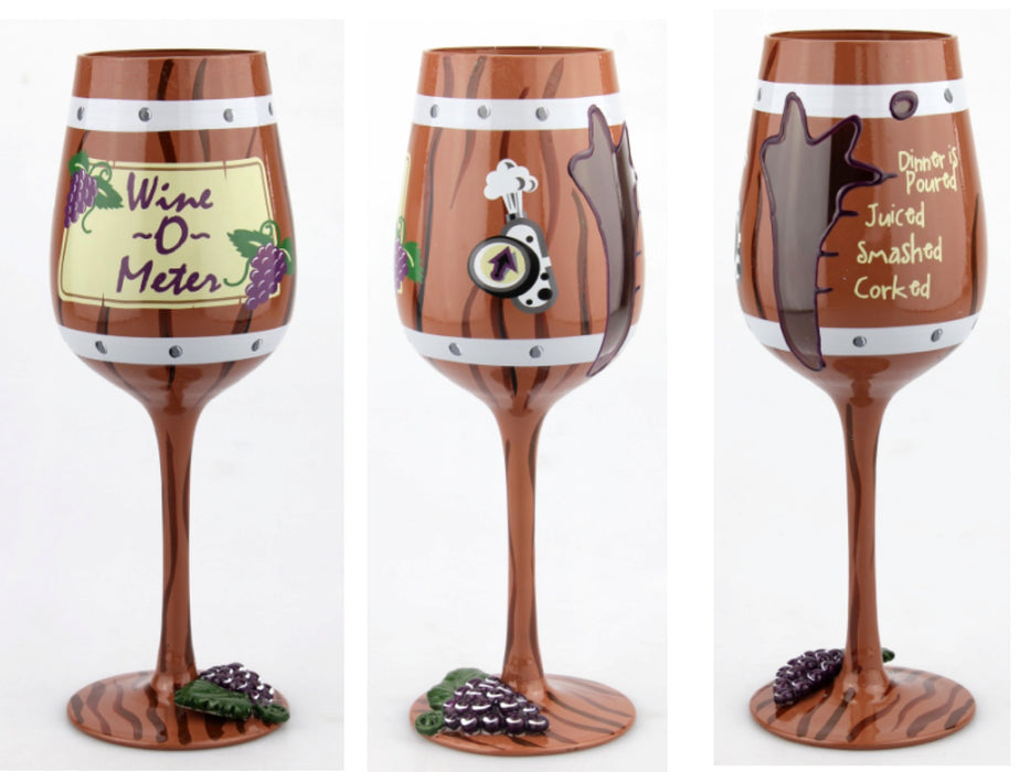 T3943A Wine-O-Meter Wine Glass