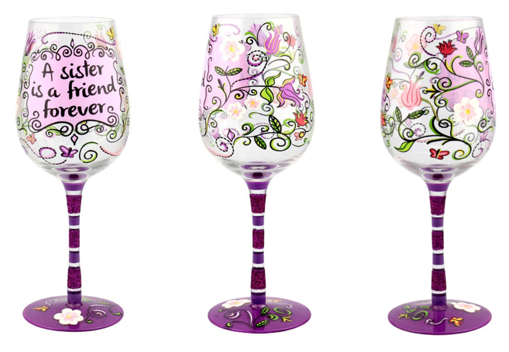 T5061A Sister Wine Glass