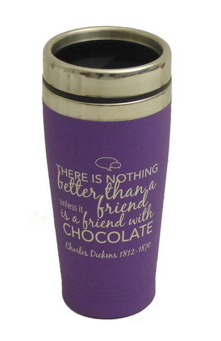 Charles Dickens - Nothing Better Than Friend With Chocolate