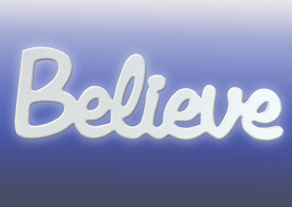 Splosh Believe Wall Hanging