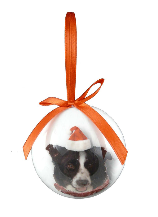 Christmas Border Collie Bauble