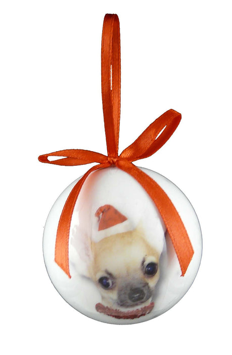 Christmas Chihuahua Bauble