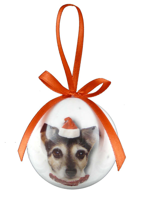 Christmas Jack Russell Bauble