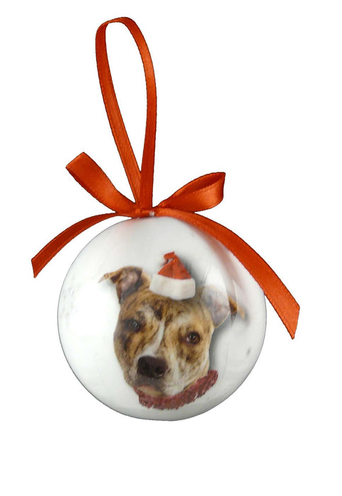 Christmas Staffy Bauble