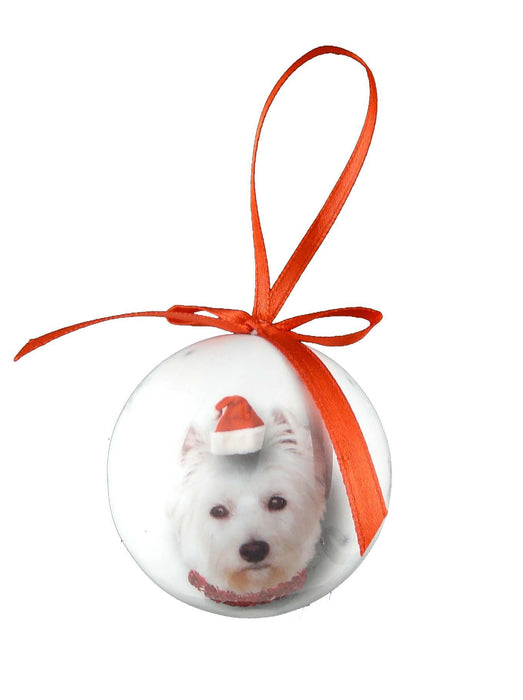 Christmas Westie Bauble