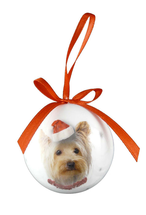 Christmas Yorkie Bauble