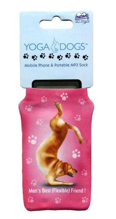 Flexible Friend Dog Phone Sock - Yoga Pets