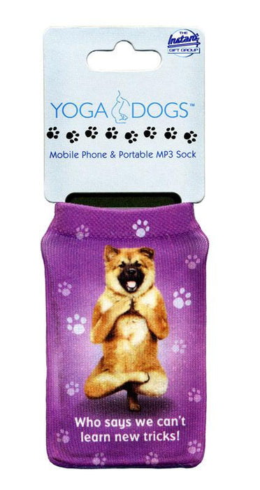 New Tricks Dog Phone Sock - Yoga Pets