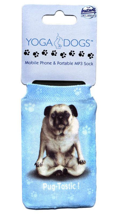 Pug Tastic Dog Phone Sock - Yoga Pets