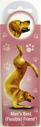 Flexible Friend Dog Bookmark - Yoga Pets