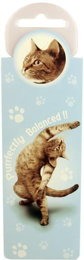 Purrfectly Cat Bookmark - Yoga Pets