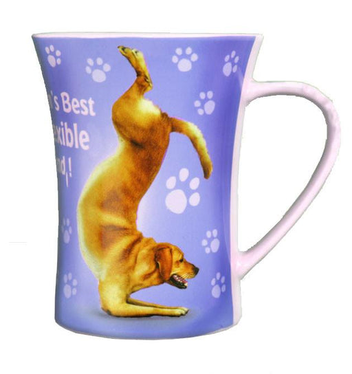 Flexible Friend Dog Mug - Yoga Pets