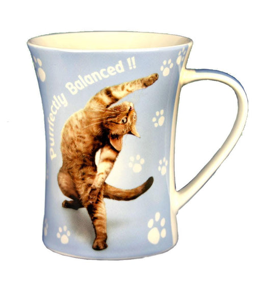 Purrfectly Cat Mug - Yoga Pets