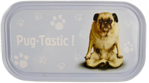 Pug Tastic Dog Fridge Magnet - Yoga Pets