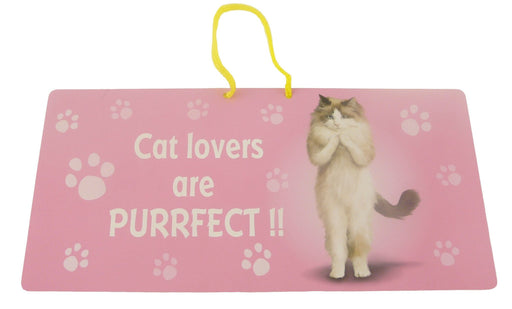 Cat Lovers Cat Hanging Sign - Yoga Pets