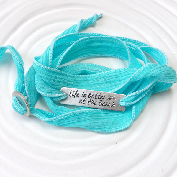 beach-saying-silk-wrap-bracelet